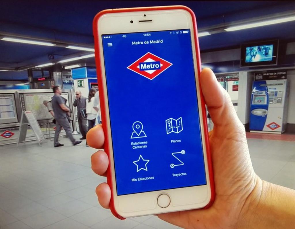 Metro de Madrid reajusta su app